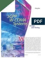 3gpp W-cdma Systems