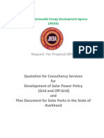 JREDA RFP for Solar Counsaltancy