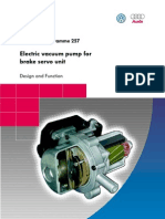 SSP 257 Electro Vacuum Pump for Brake Servo