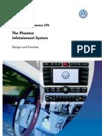 SSP 274 Phaeton Infotainment