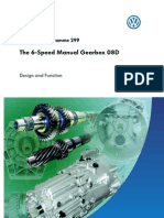 SSP 299 6 Sp Manual Gearbox 08D