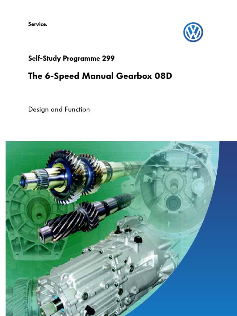 SSP 299 6 Sp Manual Gearbox 08D | Manual Transmission