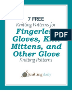 7 Free Knitted Glove and Mitten Patterns
