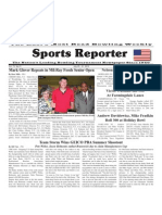 July 25 - 31, 2012 Sports Reporter