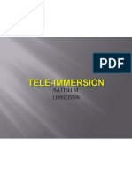 Tele Immersion Edited