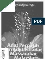 Adat Perpatih dan Adat Istiadat Masyarakat Malaysia