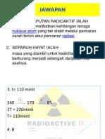 JAWAPAN Chem Rdioactive Decay