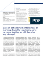 Care of Patients With LD