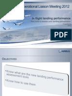 RJ in Flight Landing Performance
