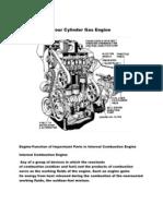 Four Cylinder Gas Engine
