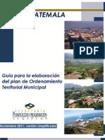 A. Guia POTmunicipal Simplificada Guatenov2011