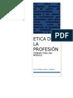ÉTICA DE LA PROFESIÓN POR PABLO DELGADO