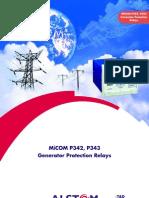 P342 343 Generators Protections
