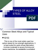 Types of Steel Alloy