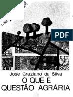 O que é questão agrária [José Graziano da Silva, 1980]