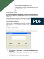 Como Escribir Tu Primer Programa en Visual Basic