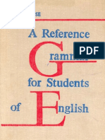 A Reference Grammar for Students of English