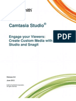 Create Camtasia Studio 8 Library Media