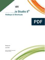 Camtasia Studio 8 Hotkeys