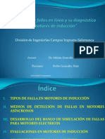 Diagnostico de Fallas en Linea Presentacion Recepcional