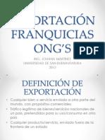 EXPORTACION-FRANQUICIAS