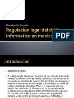 Regulacion Legal Del Delito Informatico en Mexico