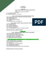 Calendario de exámenes febrero 2011