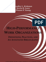High Performance Work or Gs