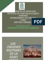 Unidad 5 Órdenes Militares Fernando Fontalvo