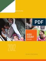 Kids Count 2012 Data Book Full Report