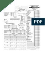 Planilha D&D 3ª Edição