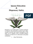 Cannabis Therapeutics Marijuana Education and Dispensary Safety Guide (Colorado)