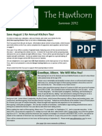 2012 Summer Newsletter