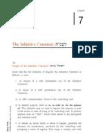 Hebrew Infintive Construct