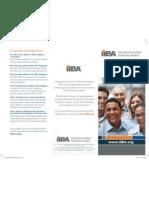 IIBA Certification Brochure