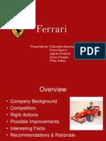 Ferrari Presentation