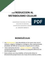 Bioquio Medicina Unt Clase i Introduc. Al Metabol. Ok