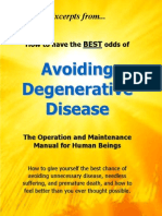 Don Bennett - Excerpts From... Avoiding Degenerative Disease