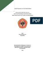 Retno FItriana Sari, H1D107001