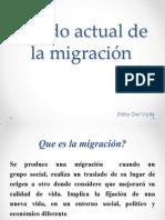Estado actual de la migración