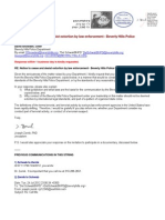 12-07-25 Notice to cease and desist extortion by law enforcement - Beverly Hills Police Department s