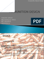 Ammunition Design Report