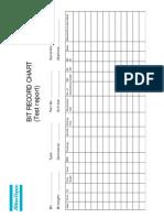 Bit Record Chart