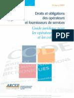 Guide Juridique Crip2007