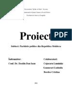 Partide Politice Din Republica Moldova