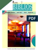 Boletín Biblios Junio