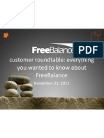 2011-11-21 FreeBalance Customer Update