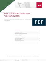 SPSS Survey Data