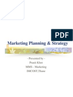 Strategic Marketing Planning