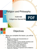 Chapter 2 Indigenous sacred ways